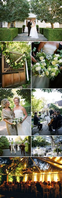 green and white Pacific Northwest garden wedding planned by Jacky Grotle of Event Success and photographed by Joann Arruda  | JunebugWeddings.com
