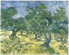 Olive Grove by Vincent Van Gogh (1889)