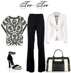 """""""outfit # 273"""" by teeteeshop on Polyvore/ nice look for work or out with the ladies"""