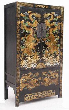 Mueble antiguo chino