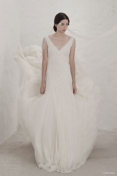 cortana bridal 2015 gypsy wedding dress cristina tulle  #wedding #dress #bride