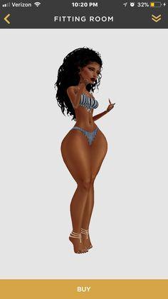 African Goddess, Ebony Girls, Imvu, Art Girl, Disney Characters, Fictional Characters, Cartoons, Curvy, Cupcakes