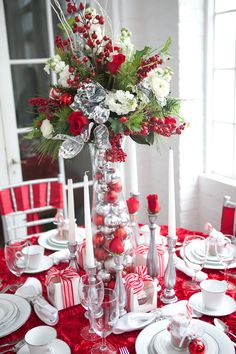 50 christmas centerpiece decorations ideas for this year christmas do it yourself holiday table decor solutioingenieria Image collections