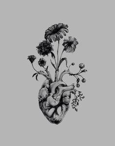I want a heart full of life.