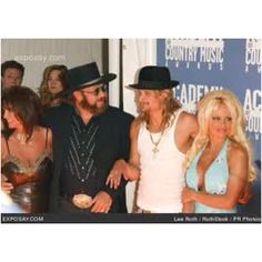 Hank,Kid Rock and Pam Anderson
