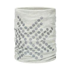 Morild Sølvfaks hals med refleks, lys grå