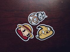 Sticker Feature: Today we feature Monkey D. Poopy Adventurer Sidekick and DUDU-8 Droid.  Click the link in our bio to see all the stickers we have available.  thecrappykids.com  #Crappykids #CRAP #poop #onepiece #luffy #anime #jakethedog #adventuretime #cartoonnetwork #bb8 #starwars #stickers by crappykids