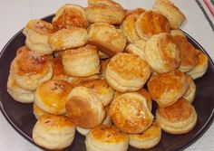 See related links to what you are looking for. Pogaca Recipe, Hungarian Recipes, Pretzel Bites, Bakery, Muffin, Food And Drink, Ale, Bread, Cookies