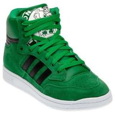 Great Boston Celtics high tops.