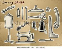 SEWING sketch
