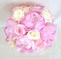 peony-rose-wedding-flowers by Blossom Wedding Flowers, via Flickr