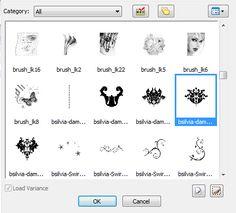Converting Photoshop brushes for Paintshop Pro