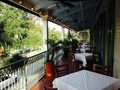 ralph's on the park restaurant new orleans | ... Park's majestic oak trees (Photo courtesty of Ralph's on the Park