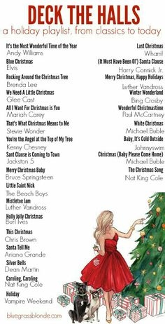 christmas party Now that its officially December its time to break out the Christmas Music! I for sure love me some good Christmas tunes. You see, for some reason my parents LOVE Christmas music. Im pretty sure bo Christmas Playlist, Christmas Tunes, Christmas Time Is Here, Merry Little Christmas, Noel Christmas, Christmas 2017, Winter Christmas, Christmas Ideas, Christmas Song List
