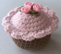 Life Size Gourmet Crochet Cupcakes  they are by Cuppycakecrochet, $8.00