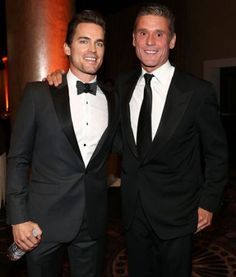 Matt Bomer & Simon Hall: Hunky