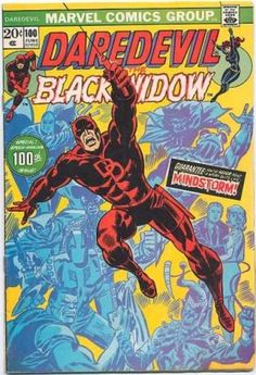 Daredevil 100 Bronze age Marvel comics group