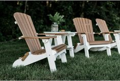 Amish Made Folding Adirondack Chair. Available in 29 different colors + dual tone options. Made with durable, recycled poly lumber. Patio Table, Patio Chairs, Adirondack Chairs, Table And Chairs, Outdoor Chairs, Outdoor Furniture, Outdoor Decor, Office Waiting Room Chairs, Miami