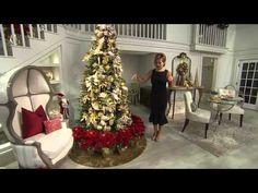 "Set of 3 18"" Poinsettia Plants with Lisa Robertson - YouTube"