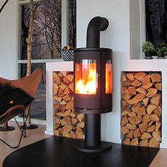 Morsø 7449 on a high pedestal