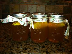 Homemade Apple Pie Moonshine!       1/2 gallon of apple juice  1/2 gallon of apple cider  3/4 cup white sugar  1 1/4 cups of brown sugar  4 cinnamon sticks  1/2 liter of 190 Proof Grain Alcohol, Everclear or equivalent.