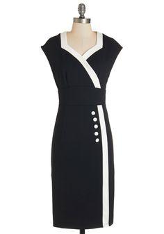 Poems and Port Dress   Mod Retro Vintage Dresses   ModCloth.com