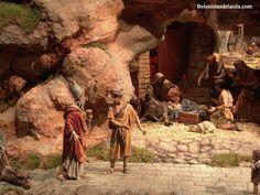 belenistas de la Isla. Fotos Nativity Stable, Oriental, Christmas Nativity Scene, Miniatures, Photography, Painting, Animals, Models, Crafts
