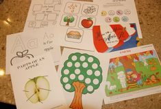 How to Make an Apple Pie and See the World :: Preschool & 1st Grade Activities - Domestic Serenity