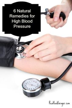 6 Natural Remedies for High Blood Pressure