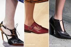Fall/ Winter 2016-2017 Shoe Trends: Shoes with Cut-Outs