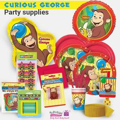 Elevate the fun quotient at your kid's birthday party with our Curious George party supplies! Curious George Party, Curious George Birthday, Boy Birthday, Party Supplies, Boys, Fun, Baby Boys, Senior Boys, Sons