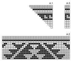 Cancún / DROPS 175-22 - Bolso en ganchillo con patrón de colores en 2 hilos DROPS Paris. - Free pattern by DROPS Design