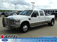2010 Ford F350, 86,228 miles, $35,942.