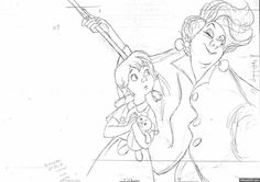 Animation by Milt Kahl Disney Sketches, Disney Drawings, Cartoon Drawings, Character Design Animation, Character Design References, Animation Reference, Animation Film, Disney Concept Art, Disney Art