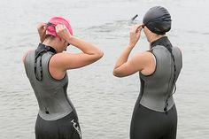 Triathlon tips.  There's some good ones here I hadn't thought of.  Especially since this will be my first one using a wetsuit.
