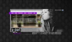 Website voor a-part sieraden.  http://www.apartsieraden.nl