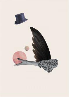 Hitchcock fugl - Dagens Poster - Boligcious