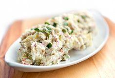 Vánoční bramborový salát Mayonnaise, Stevia, Potato Salad, Potatoes, Ethnic Recipes, Food, Tv, Zucchini, Salads