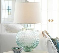 Karlie Glass Bedside Lamp Base #potterybarn--$199