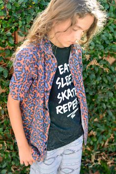 "Sometimes my tween boy is hard to dress. He's picky about what he wears. Then we found these cool skater boy style boys clothes and now he says he's got ""swag""."