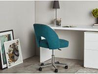 Lloyd Chaise De Bureau Bleu Minerali Et Gris Marne Chaise De Bureau Design Chaise Bureau Mobilier Bureau