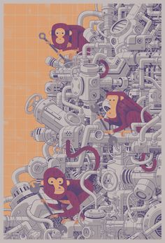 The Great Machine on Behance