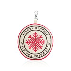 Snowflake icon coin purse fits a gift card for the holidays