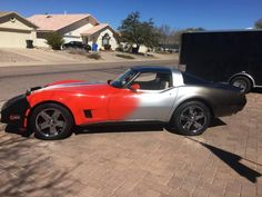 Shitty Corvette | Ugly Car Pictures #chevy #corvette #chevrolet #fade #shittycarmod