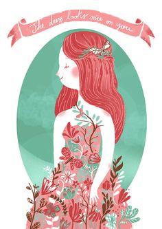 I like pretty things by Giovana Medeiros, via Behance