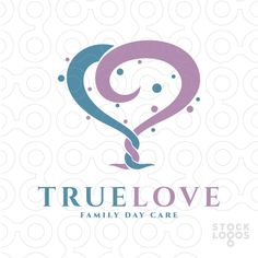 Exclusive Customizable Logo For Sale: True Love Tree | StockLogos.com