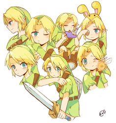 Link's medley by よもぎマジック
