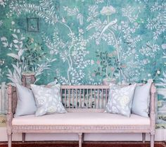 "de Gournay on Instagram: ""Introducing 'Salon Vert', a reinterpretation of the iconic 18th century chinoiserie hand painted wallpaper that was in Pauline de…"