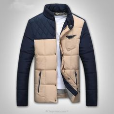 Casual Stand Collar Cotton Padded Jacket | 81Supreme