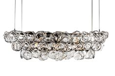Buy OSTREA CHANDELIER by John Pomp - Made-to-Order designer Lighting from Dering Hall's collection of Contemporary Chandeliers.